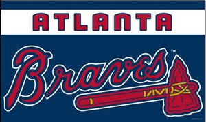 Atlanta Braves 3x5ft Flag
