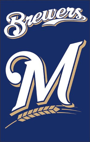 Milwaukee Brewers House Flag 2 Sided