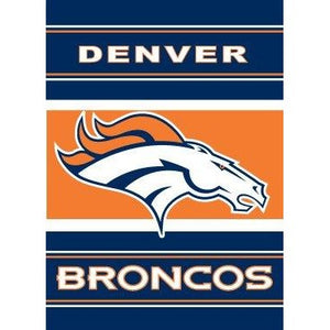Denver Broncos House Flag 2 Sided
