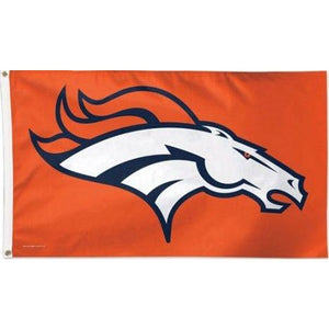 Denver Broncos 3x5ft Deluxe Flag