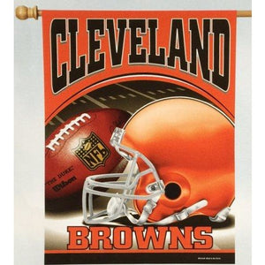 Cleveland Browns House Flag