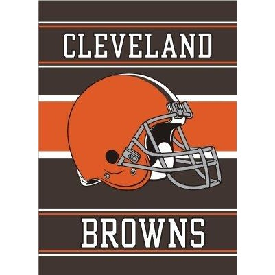 Cleveland Browns House Flag 2 Sided