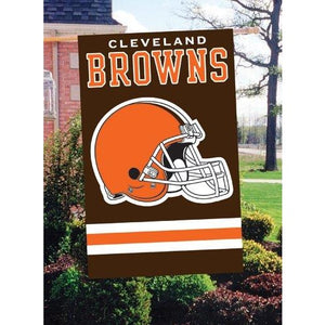 Cleveland Browns House Sewn Flag 2 Sided