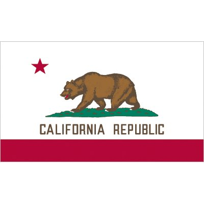 California Flag - Industrial Polyester
