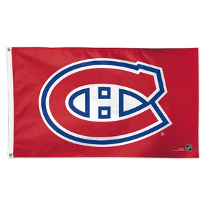 Montreal Canadiens 3x5ft Deluxe Flag