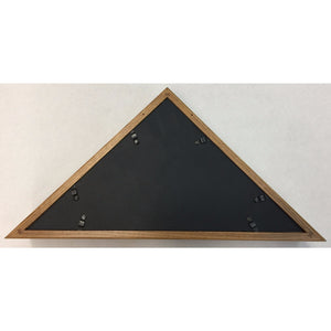 Triangle Wood Display Case for 3x5ft Flag - Oak - FlagsOnline.com by CRW Flags Inc. - 6