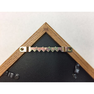 Triangle Wood Display Case for 3x5ft Flag - Oak - FlagsOnline.com by CRW Flags Inc. - 5
