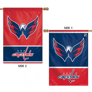 Washington Capitals House Flag 2 Sided