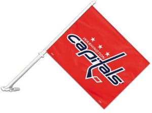 Washington Capitals Car Flag 2 Sided
