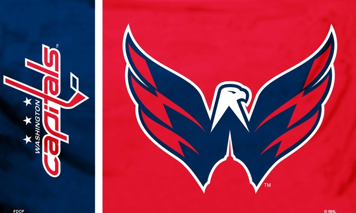 Washington Capitals 3x5ft Flag