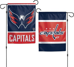 Washington Capitals Garden Flag 2 Sided