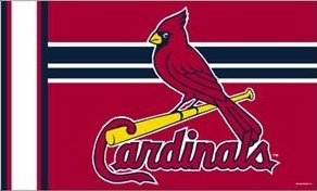 St Louis Cardinals 3x5ft Flag
