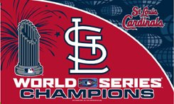 St Louis Cardinals 2006 World Series Champs 3x5ft Flag