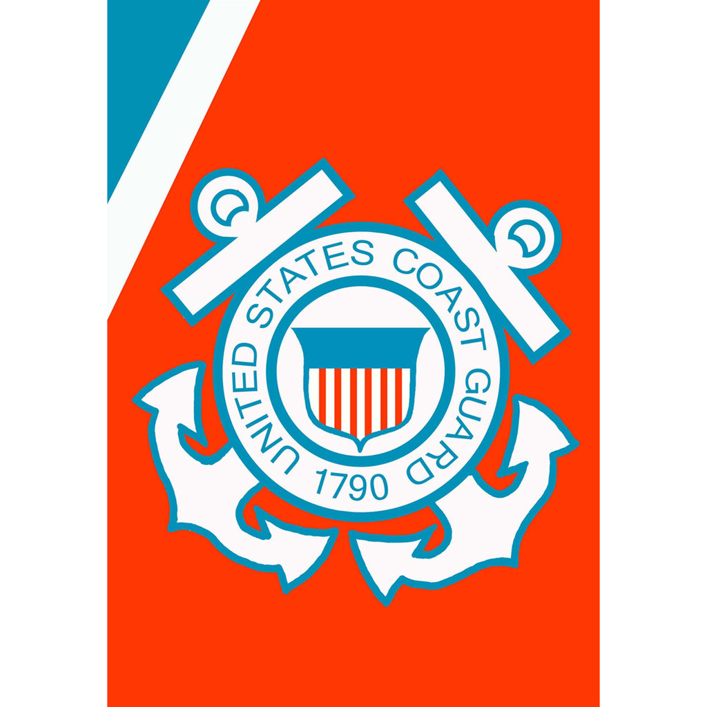 Coast Guard - House Flag - FlagsOnline.com by CRW Flags Inc.
