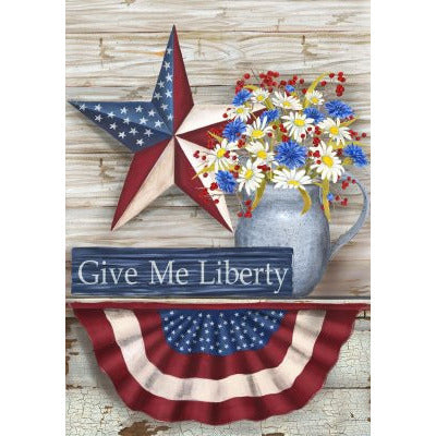 Give Me Liberty - Garden Flag - FlagsOnline.com by CRW Flags Inc.