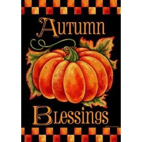 Autumn Blessings - House Flag