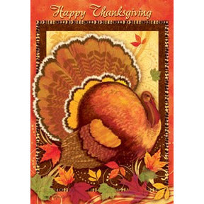 Happy Thanksgiving - House Flag - FlagsOnline.com by CRW Flags Inc.