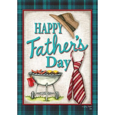 Happy Father's Day - Garden Flag - FlagsOnline.com by CRW Flags Inc.