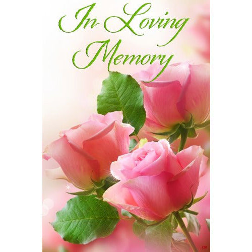 In Loving Memory - Garden Flag - FlagsOnline.com by CRW Flags Inc.