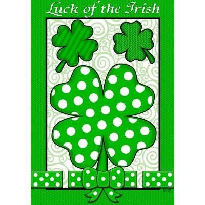 Luck of the Irish - Garden Flag - FlagsOnline.com by CRW Flags Inc.