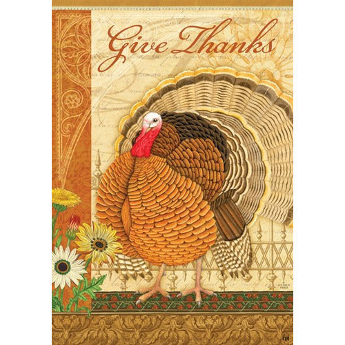 Elegant Turkey - Garden Flag - FlagsOnline.com by CRW Flags Inc.