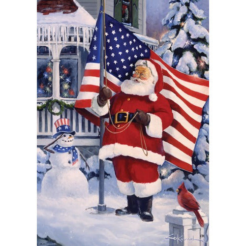 American Santa - Garden Flag - FlagsOnline.com by CRW Flags Inc.