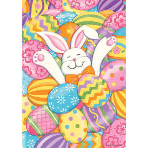 Bunny Eggs - House Flag - FlagsOnline.com by CRW Flags Inc.
