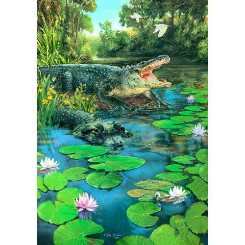 Alligators - Garden Flag - FlagsOnline.com by CRW Flags Inc.