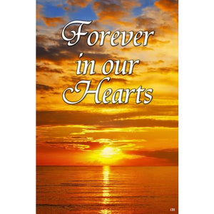 Forever In Our Hearts - Garden Flag - FlagsOnline.com by CRW Flags Inc.