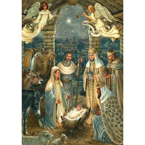 Royal Nativity - House Flag - FlagsOnline.com by CRW Flags Inc.