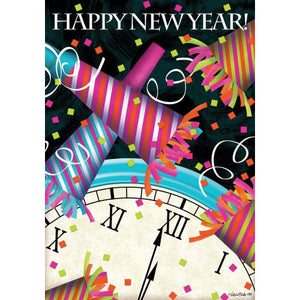 Happy New Year Favors - House Flag - FlagsOnline.com by CRW Flags Inc.
