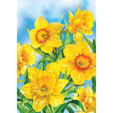Daffodils - House Flag - FlagsOnline.com by CRW Flags Inc.
