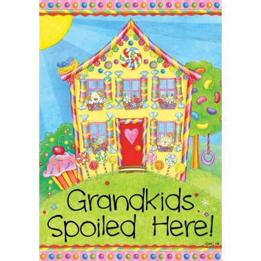 Grandkids House - Garden Flag - FlagsOnline.com by CRW Flags Inc.