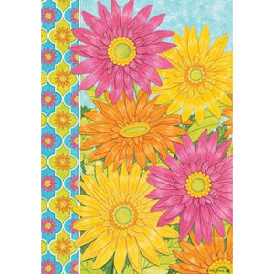 Vibrant Daisies - House Flag - FlagsOnline.com by CRW Flags Inc.