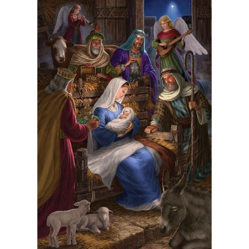 Holy Nativity - Garden Flag - FlagsOnline.com by CRW Flags Inc.