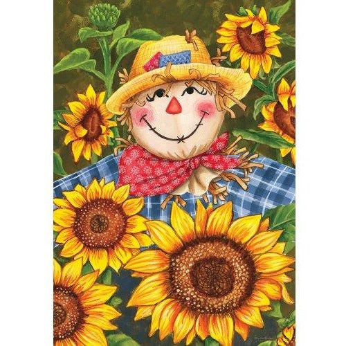 Plaid Scarecrow - Garden Flag