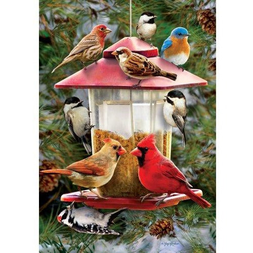 Winter Feeder - Garden Flag