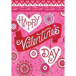 Valentines Greeting - Garden Flag