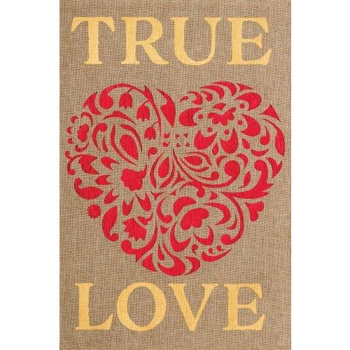 True Love - Garden Flag