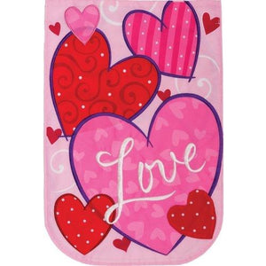 Love Hearts - Garden Flag
