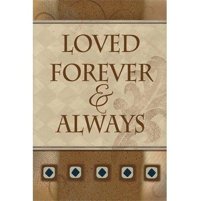 Loved Forever - Garden Flag