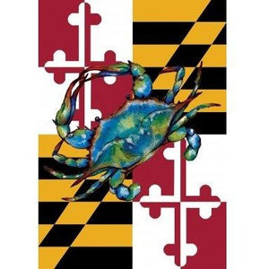 Blue Crab Maryland - House Flag