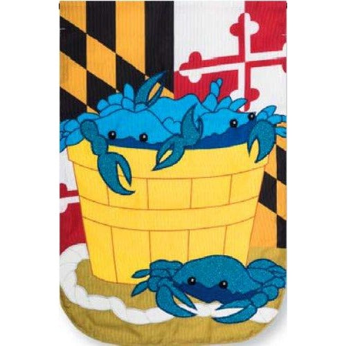 Crab Basket - Garden Flag