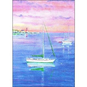 Sailboats - Garden Flag