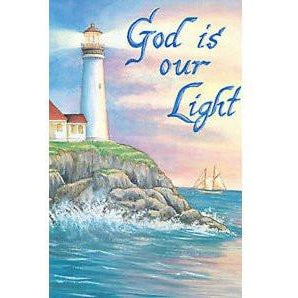 God Is Our Light - House Flag - FlagsOnline.com by CRW Flags Inc.