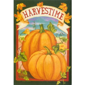Harvest Time - Garden Flag - FlagsOnline.com by CRW Flags Inc.