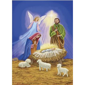 Nativity II - House Flag - FlagsOnline.com by CRW Flags Inc.