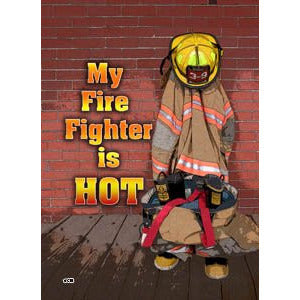 Hot Firefighter - Garden Flag - FlagsOnline.com by CRW Flags Inc.