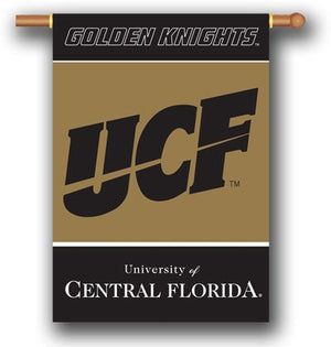 University of Central Florida House Flag 2 Sided