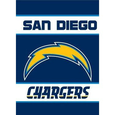 San Diego Chargers House Flag 2 Sided